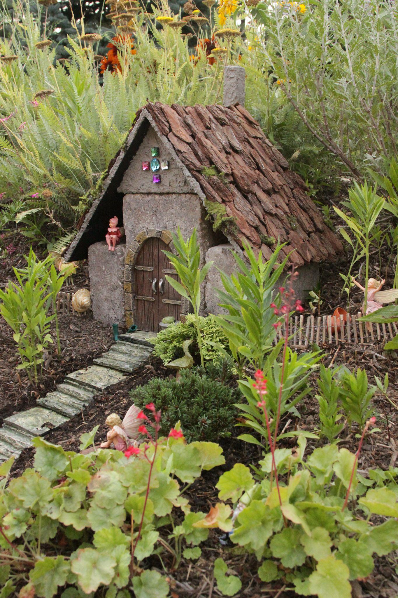 Fairy garden   Fairy, Gardens and Fairy houses