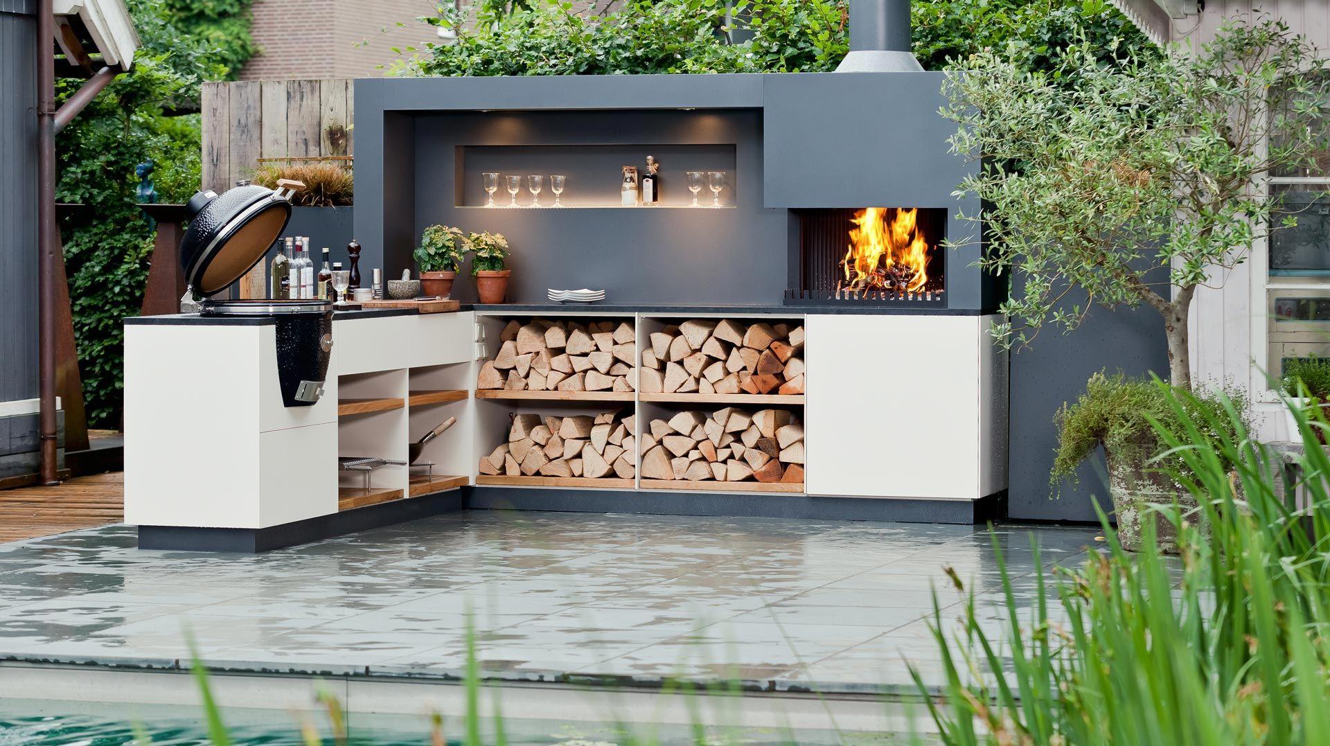 Outdoor Küche mit Monolith – gestalten Sie Ihre Premium Aussenküche
