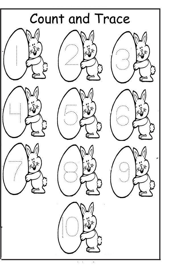 Free Easter Worksheets For Kindergarten