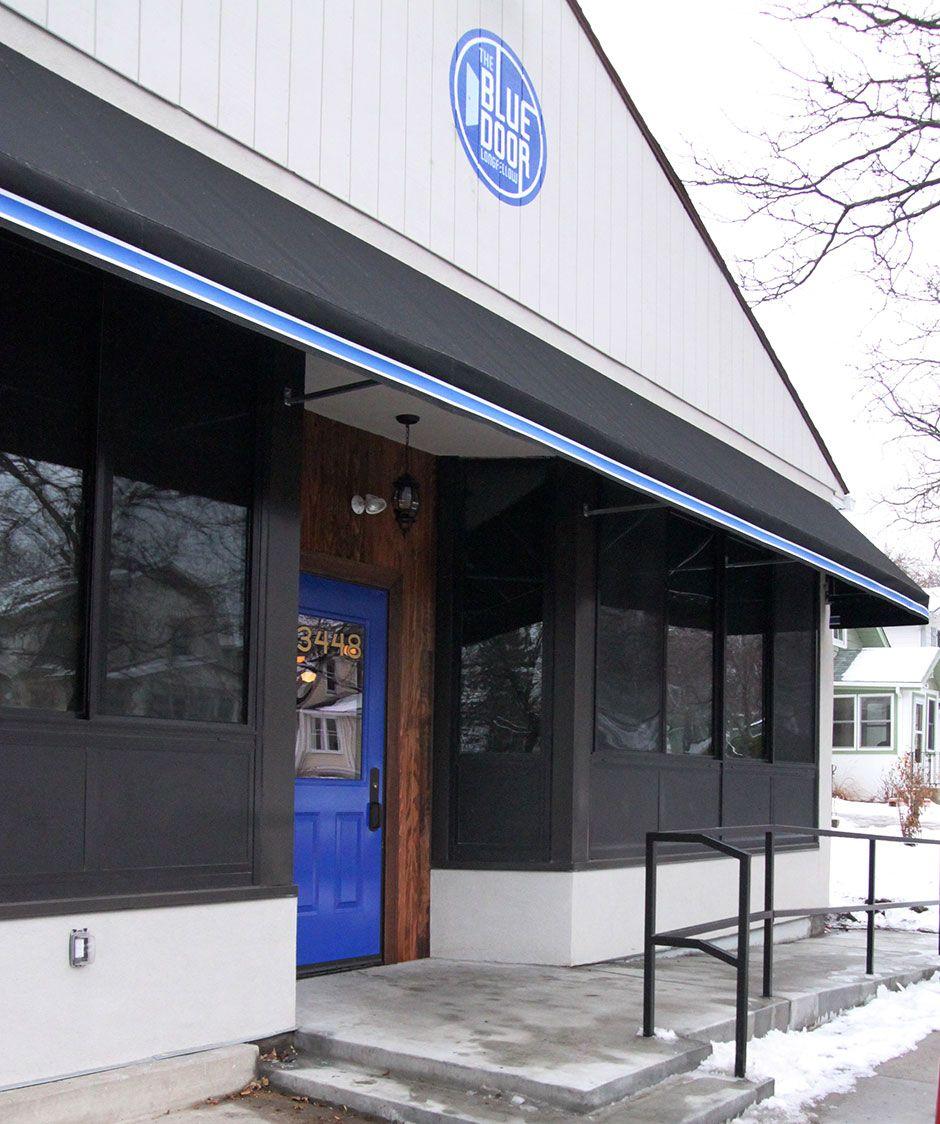 Blue Door Longfellow Architecture Blue Outdoor Decor