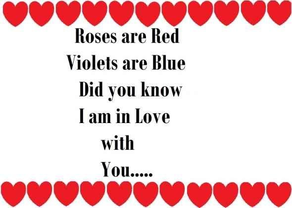 Valentine Cards For Kids Valentines Poem