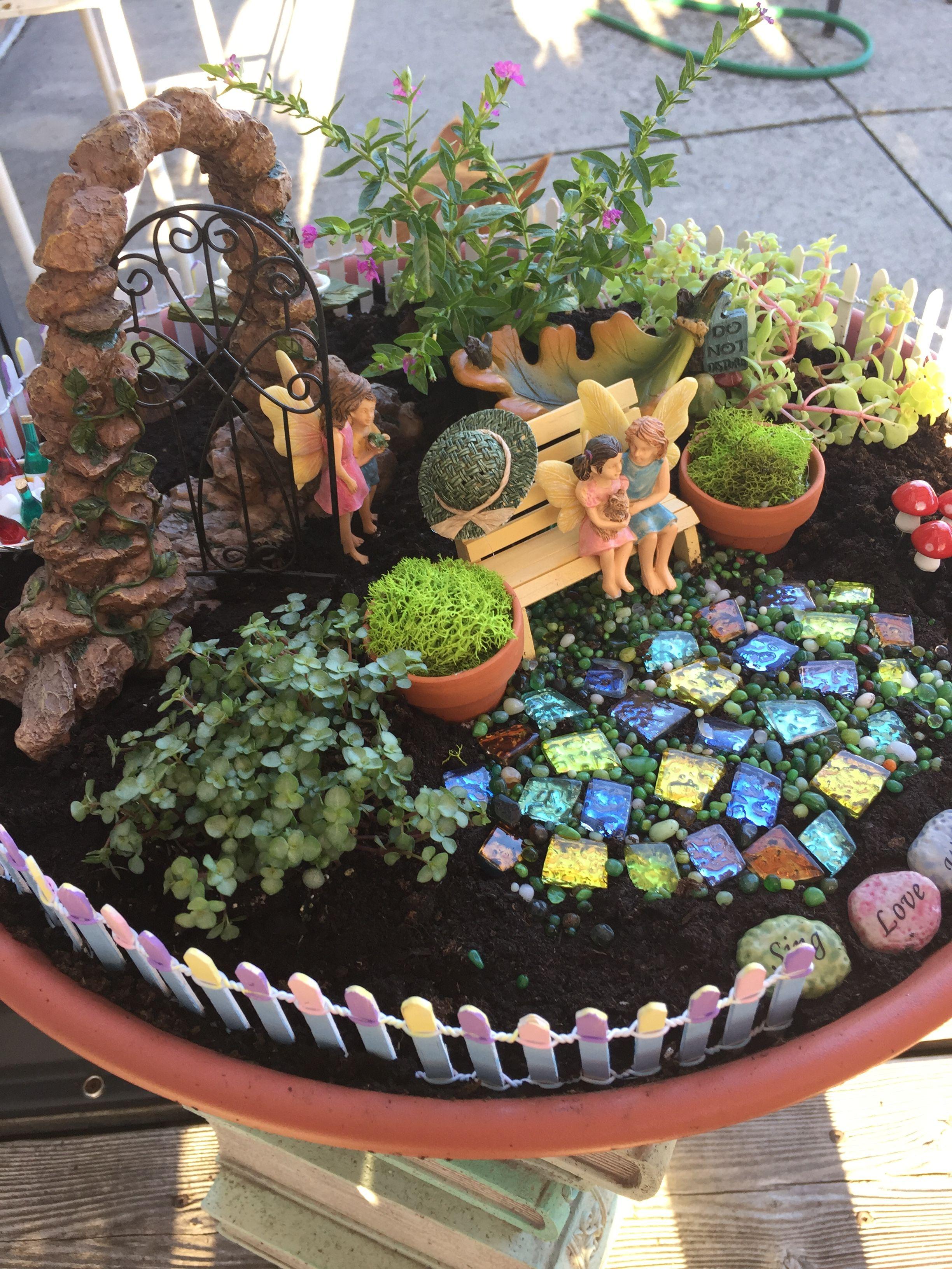 Small Fairy Garden With Images Fairy Garden Designs Fairy