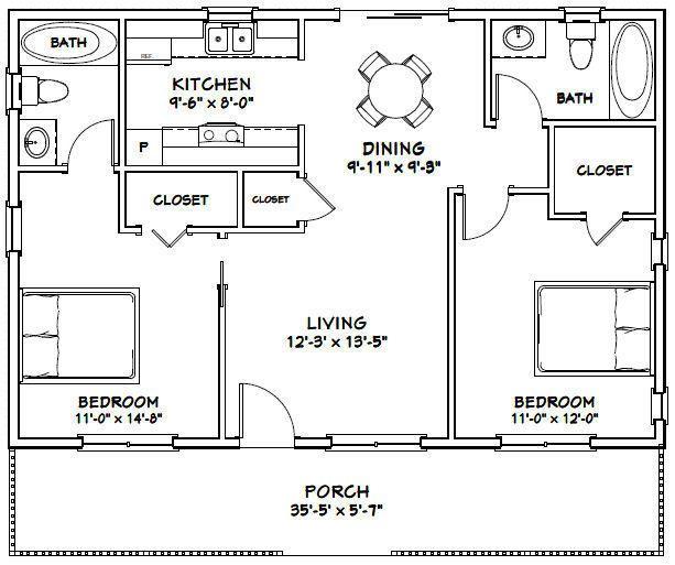 house bedroom bath sq ft pdf floor plan model picclick also rh pinterest