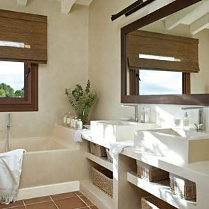 Ba o de cemento alisado o microcemento ba os pinterest ideas para bath and house - Fotos banos microcemento ...