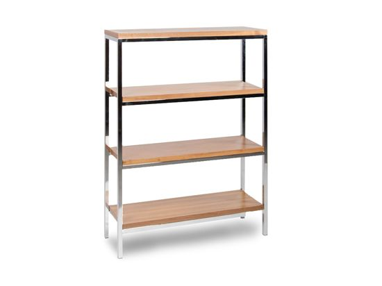 Plummers Bookcases Shelves Tate Bookcase Walnut