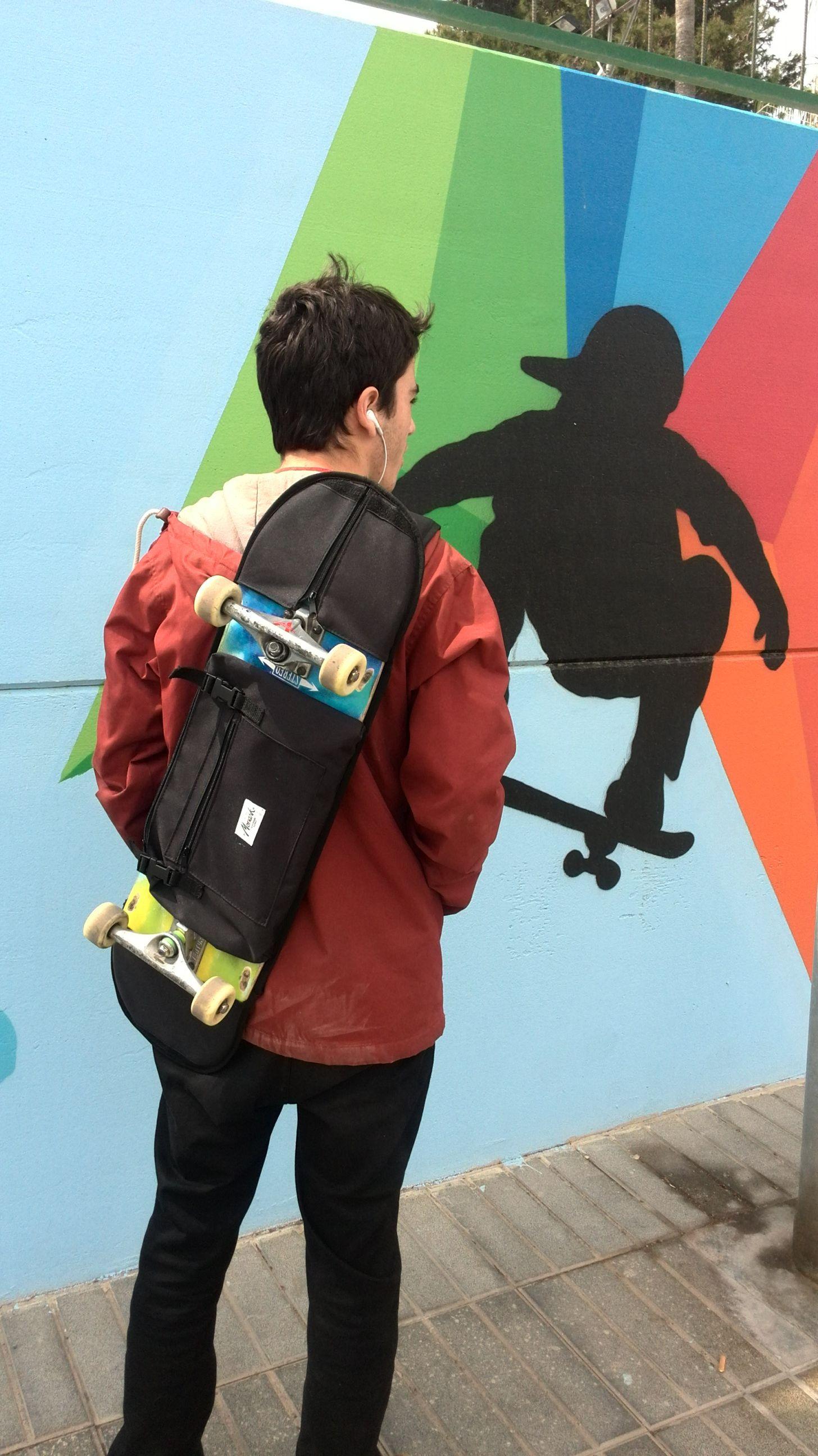 Skateboard Backpacks Have Secure Straps To Hold Your Skateboard Skateboard Backpack Backpacks Skateboard