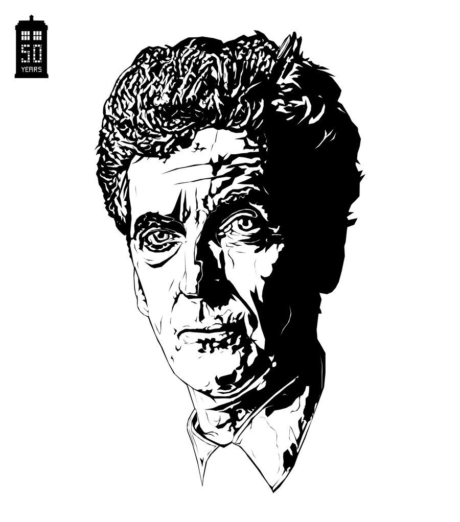 Doctor Who Coloring Pages Printable | Doctor Who Peter Capaldi by ...