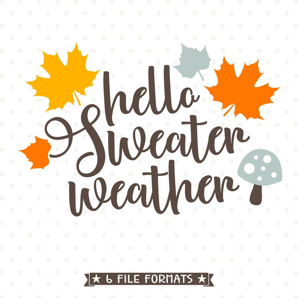 Create Something Adorably Cozy With This Fall SVG File, Perfect For All  Your DIY Projects Or Handmade Business Product Lines. SVG, DXF, EPS, PNG  And JPG ...