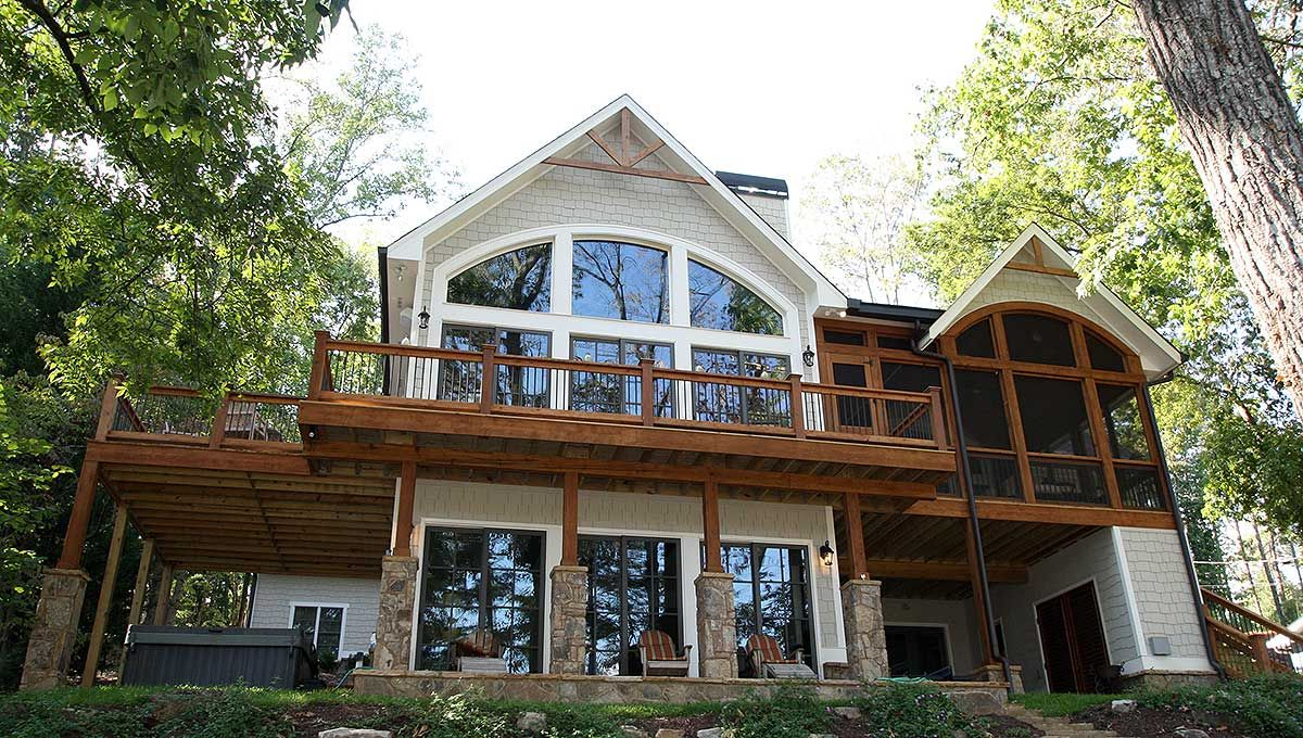 Plan 25600ge Outdoor Lover S Cottage House Plan Basement House Plans Cottage Plan Cabin House Plans