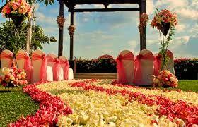 casamento ao ar livre esbanja romantismo