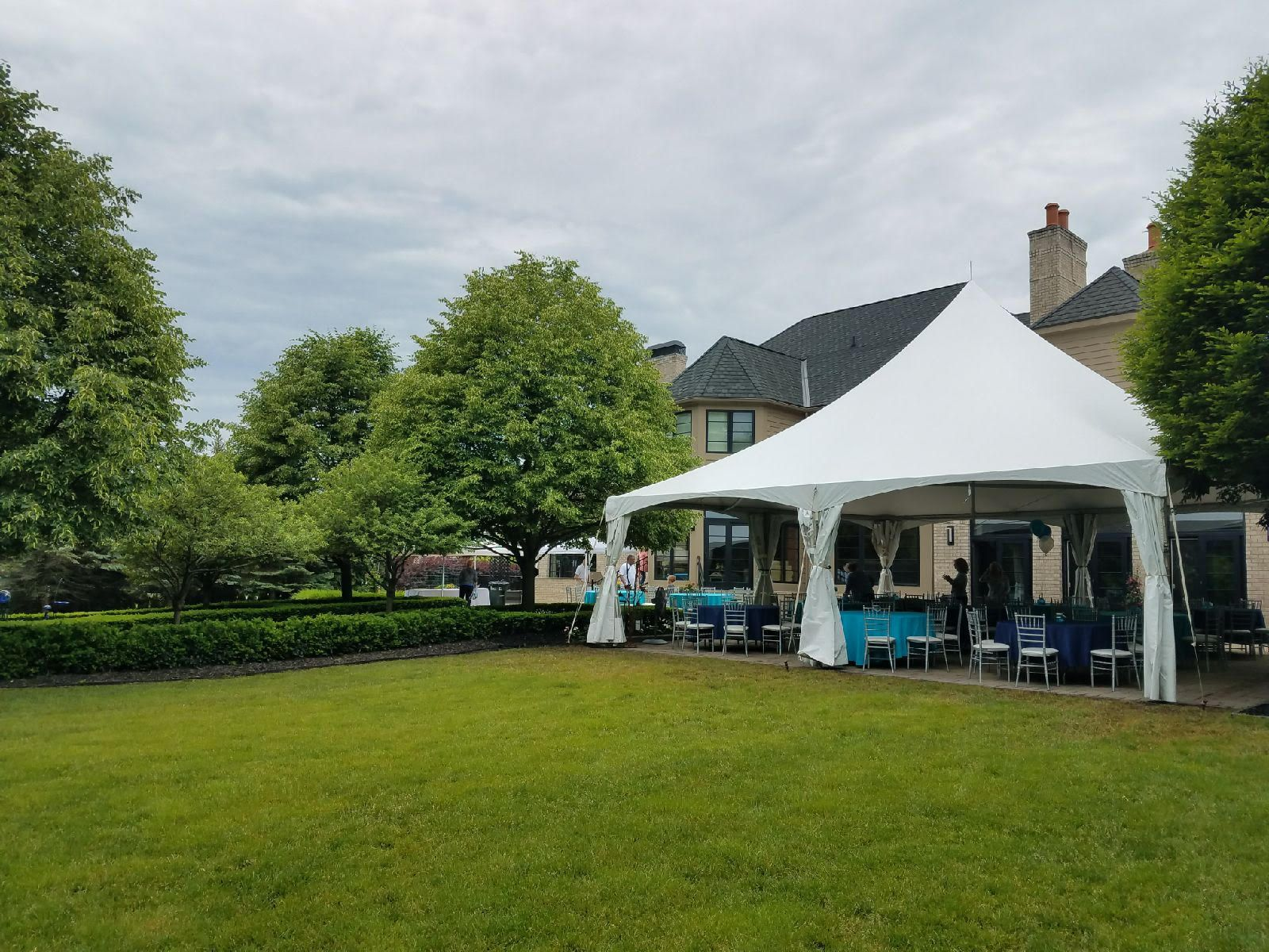 A 30x30 Century tent setup for a 90th birthday party. & A 30x30 Century tent setup for a 90th birthday party. | Our Tents ...