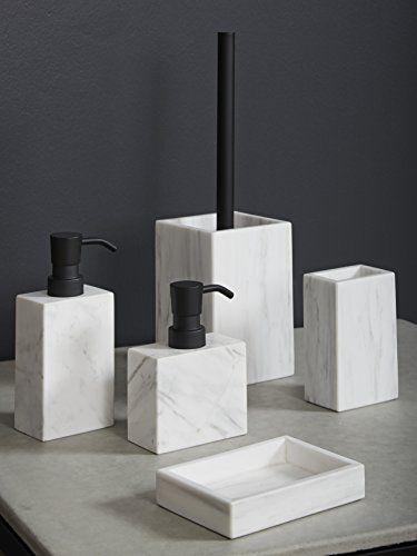Marble Design Badaccessoires Set 5 Teilig 100 Marmor Badezimmer