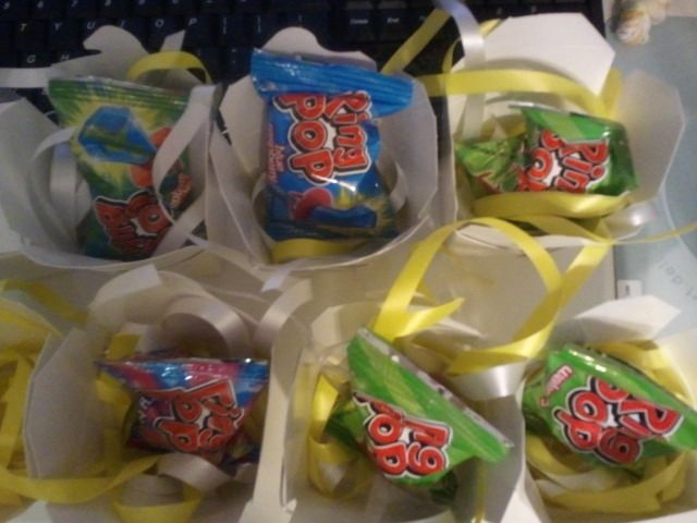 ring pop party favors jewelry party theme Birthday Party Ideas