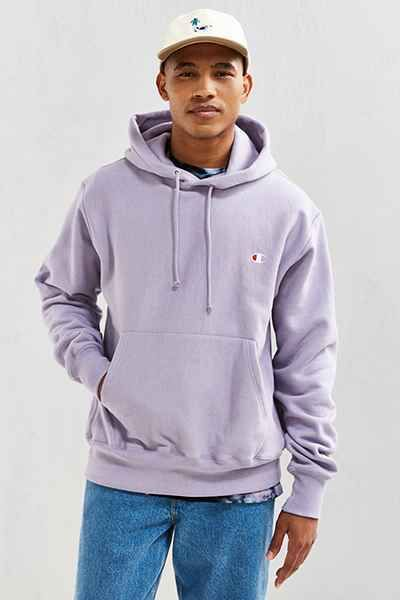 43df6832e7e0 NWT Champion Reverse Weave Hooded Hoodie Sweatshirt Lavender Purple Pastel  Small