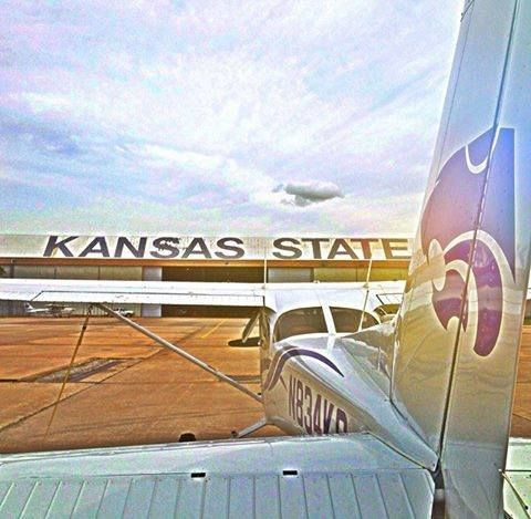 From Kansas State University: Photo of the Week! #KSU Salina is home to our elite aviation program with more Master Certified Flight instructors than any other U.S. college or university. (Photo Courtesy of Kansas State University Salina on Instagram.)  For more photos & follow us https://instagram.com/kansasstateuniversity/. http://studyusa.com/en/schools/p/ks006/kansas-state-university #KansasStateUniversity #aviationprograms #USeducation