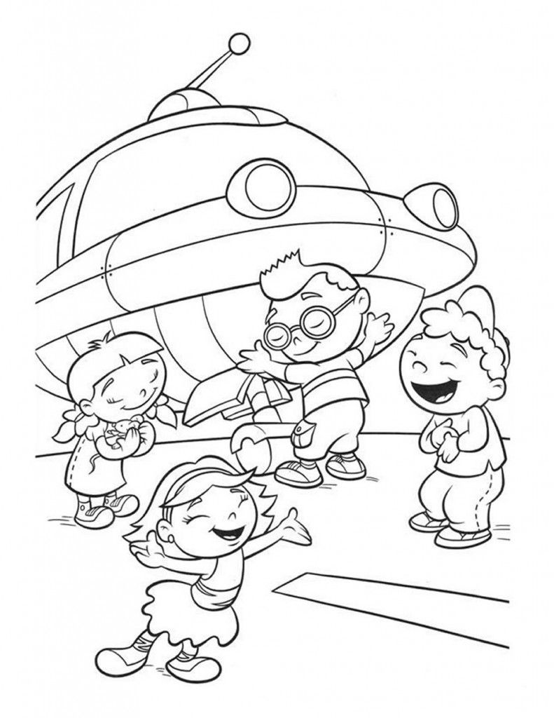 Little Einsteins Coloring Pages Printable Coloring Pages