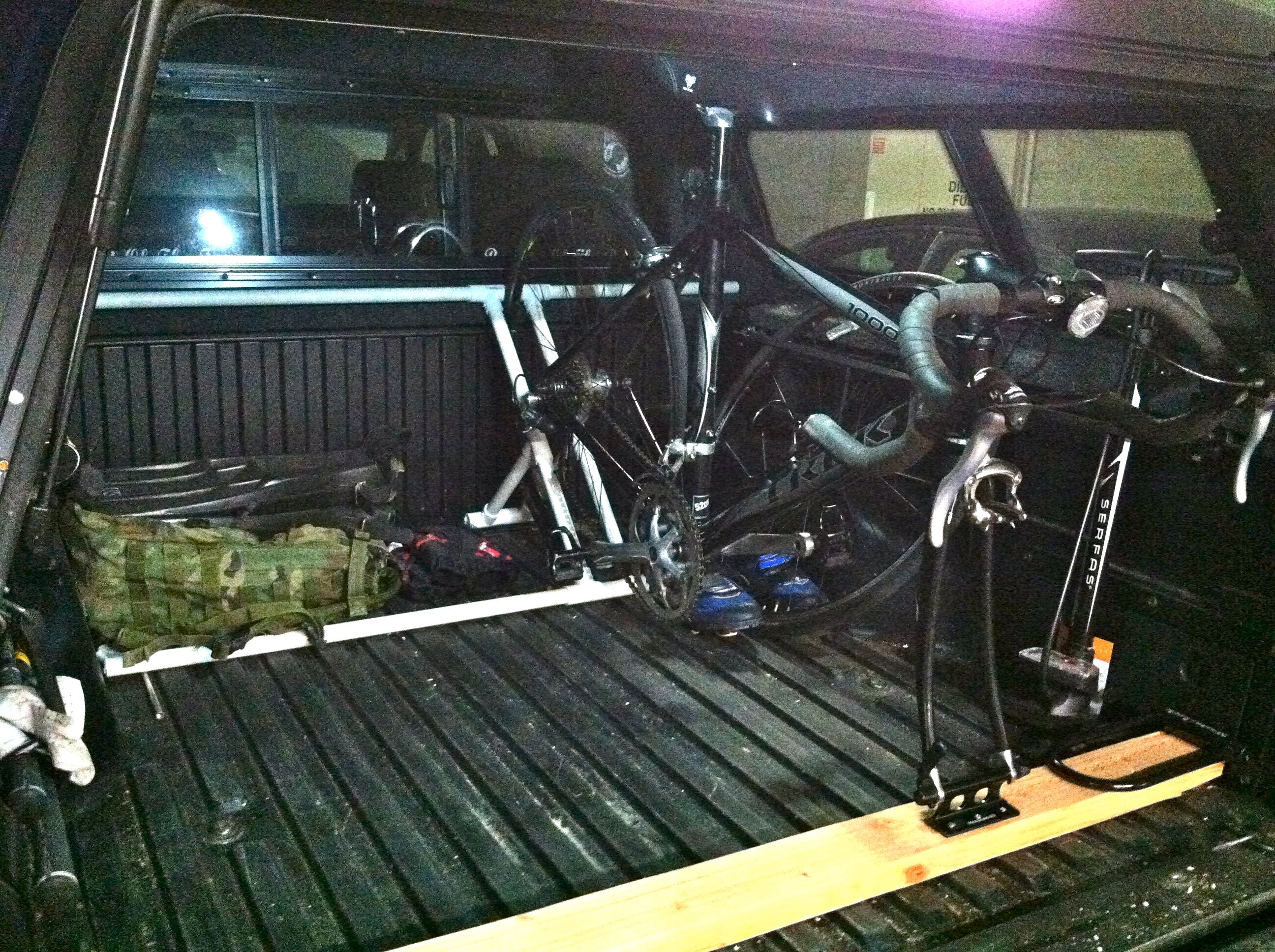 Bike Racks For Trucks With Toppers Uploaded by user Bike rack