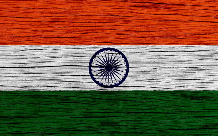 Download wallpapers flag of india 4k asia wooden texture indian flag national symbols - Indian flag 4k wallpaper ...