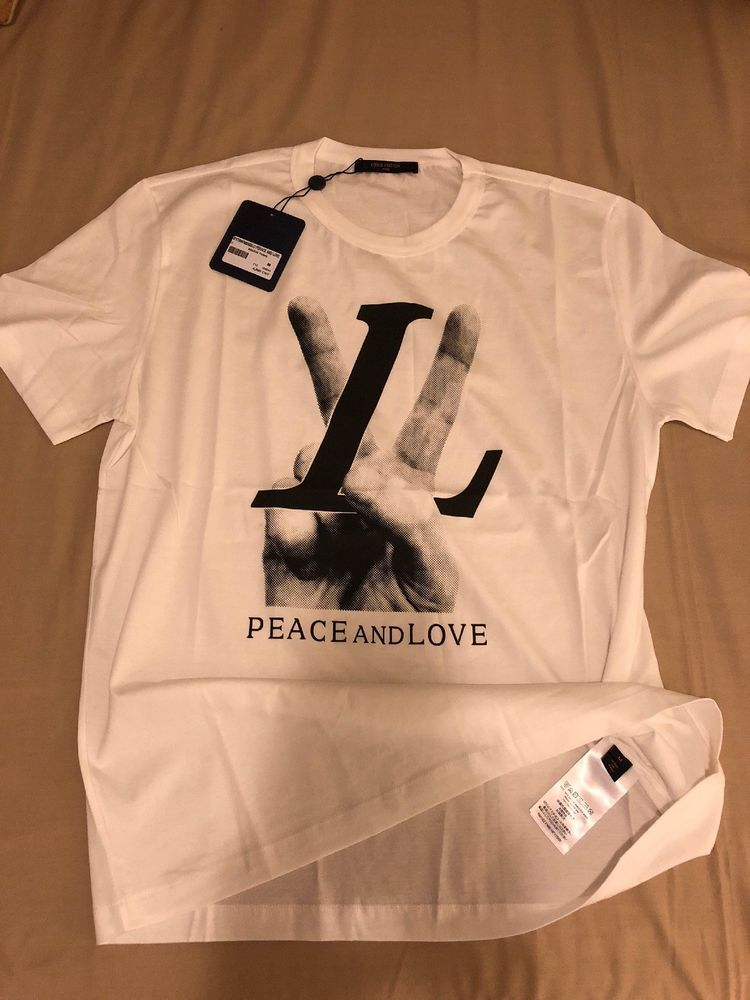 96925bae Louis Vuitton Peace And Love #fashion #clothing #shoes #accessories # mensclothing #shirts (ebay link)