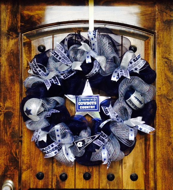Dallas Cowboys Wreath In 2020 (With Images)