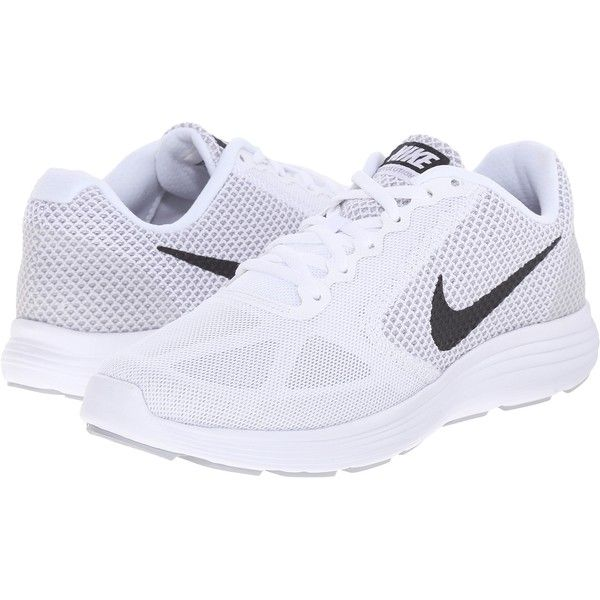 Mens Shoes Nike Revolution 3 White/Wolf Grey/Black
