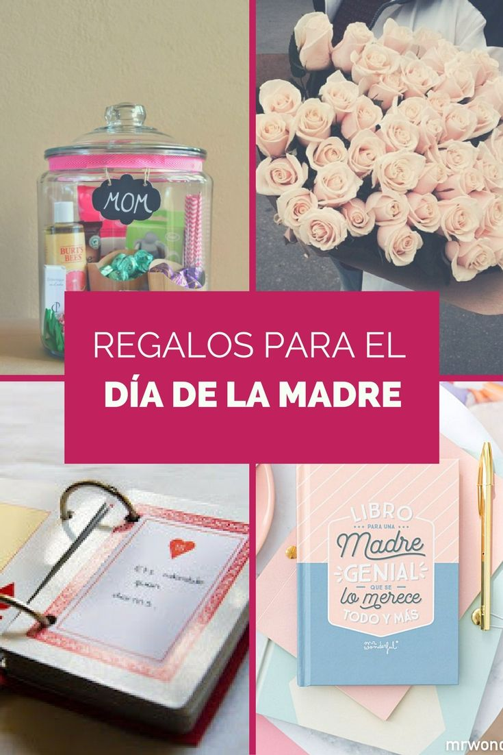 Lista de ideas de regalo diy y materiales para el d a de for Ideas para mama