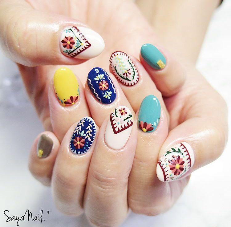 Pin de Isela amador en Diseños de uñas   Pinterest   Diseños de uñas ...