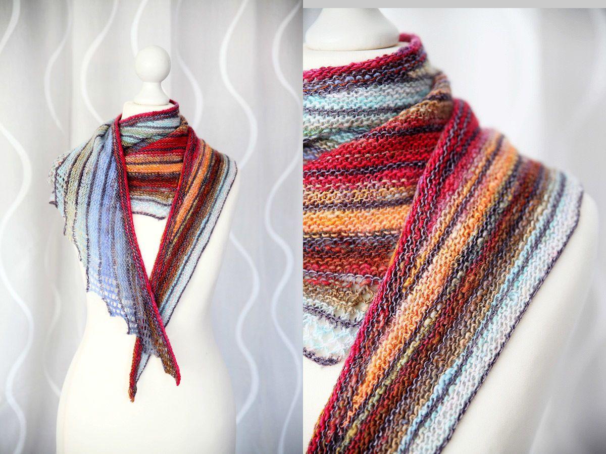 Châle Impulsion - explications tricot (avec images) | Tricot, Tricot et crochet, Tricot tutoriel