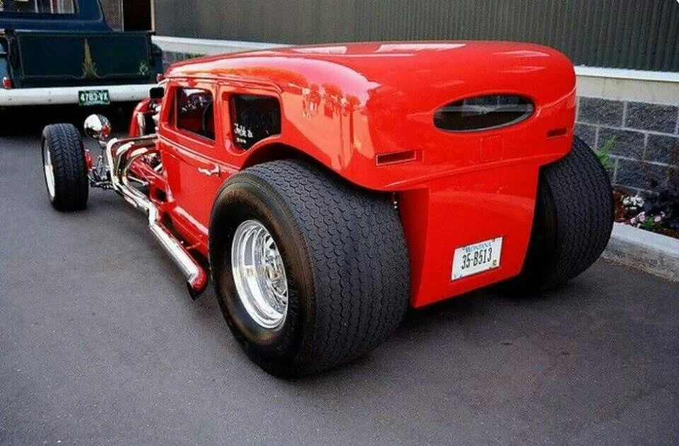 Tubbed hot rod   Cars   Pinterest   Rats, Cars and Car engine