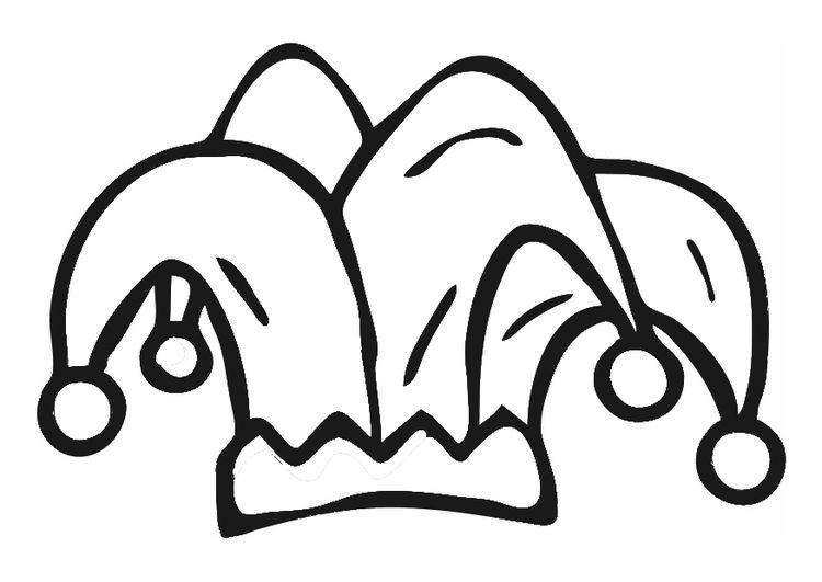 Malvorlage Narrenkappe Ausmalbild 29559 Traumfanger Tattoos Malvorlagen Kreidemalerei