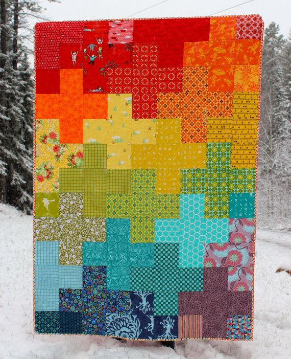 Rainbow Baby, Toddler Quilt | Toddler quilt, Quilts ...