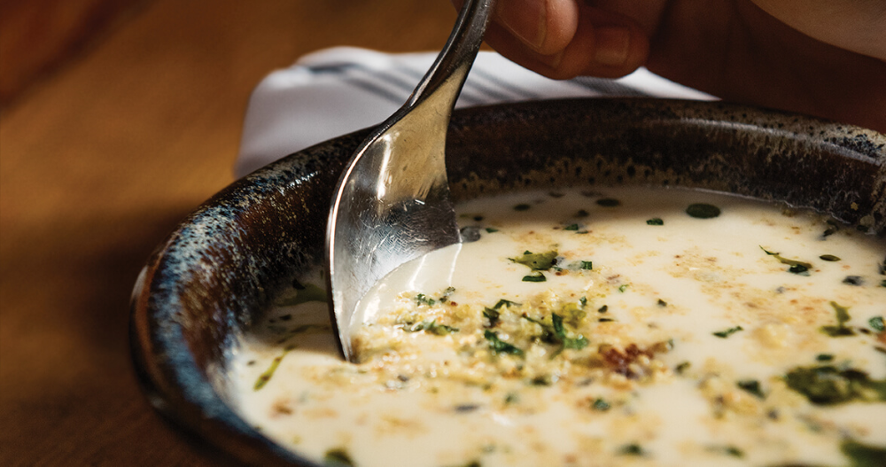 Melting Pot: Buttermilk Soup | Our State #meltingpotrecipes