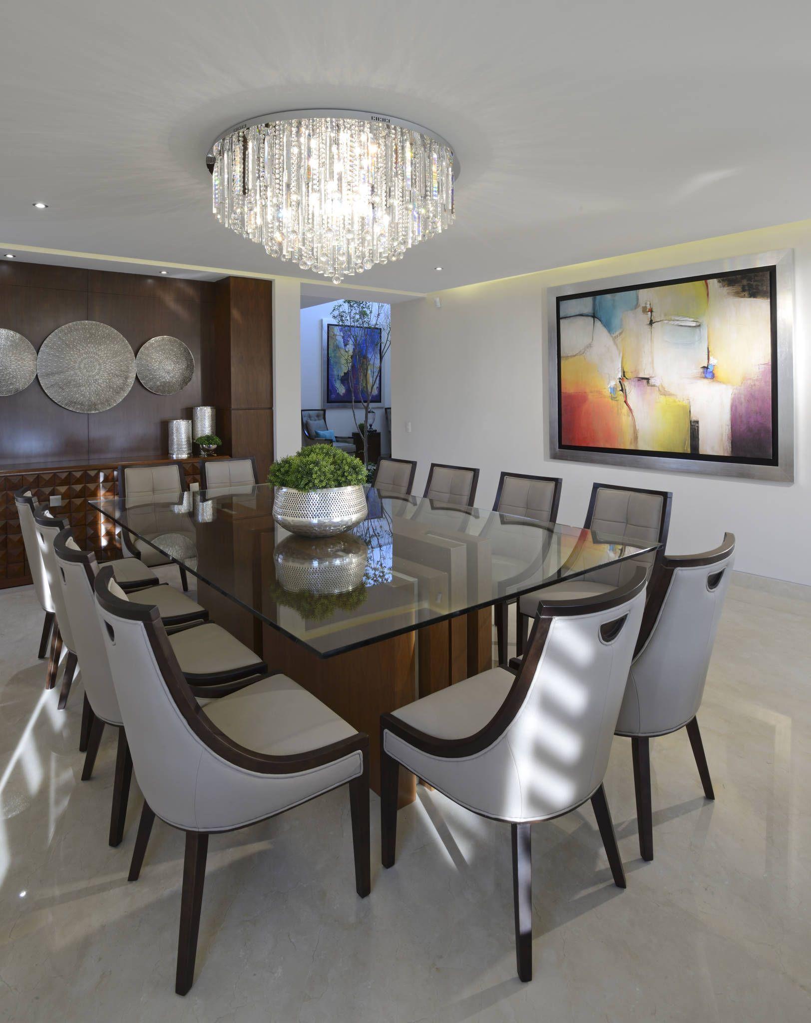 Comedor casa gl: comedores de estilo por victoria plasencia ...