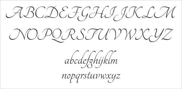 tangerine - whimsical, good for drop caps Pretty Fonts Alphabet, Alphabet Style, Font