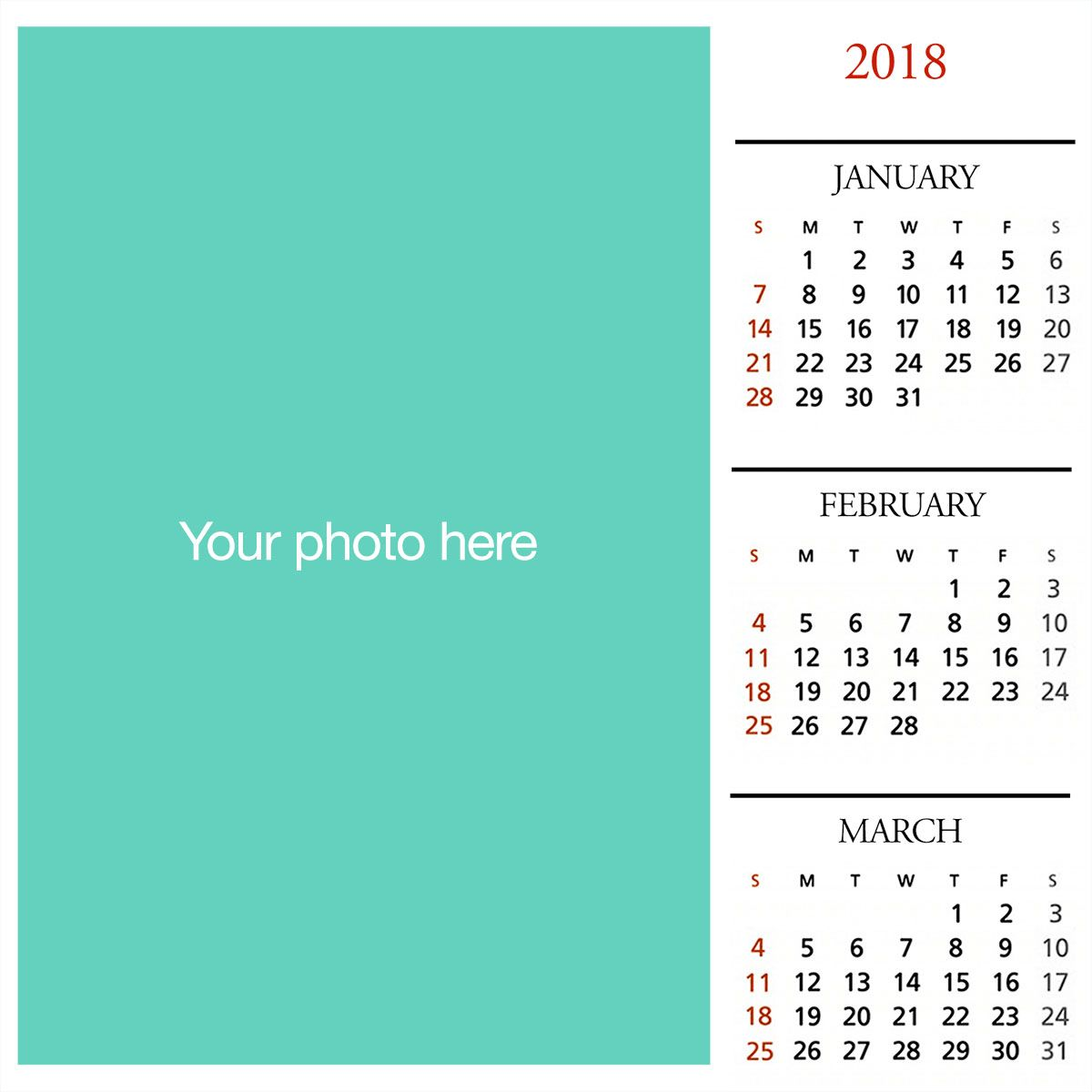 Make Lovely Calendars With Your Family Photos Also Greeting