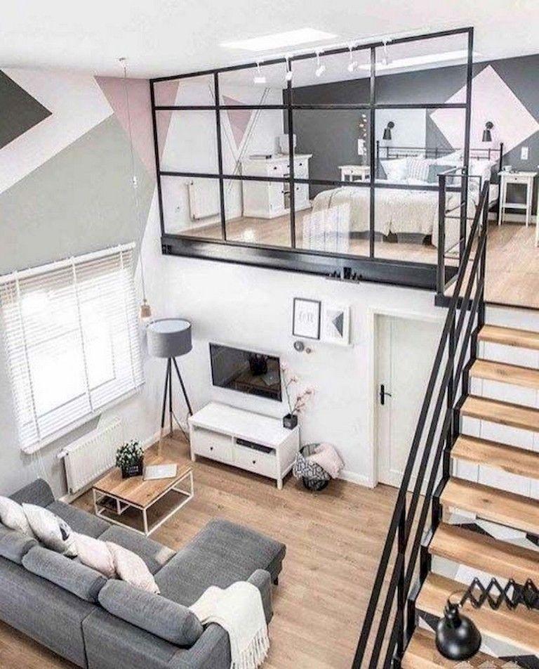 75 Lovely Modern Apartment Living Room Decor Ideas Apartment
