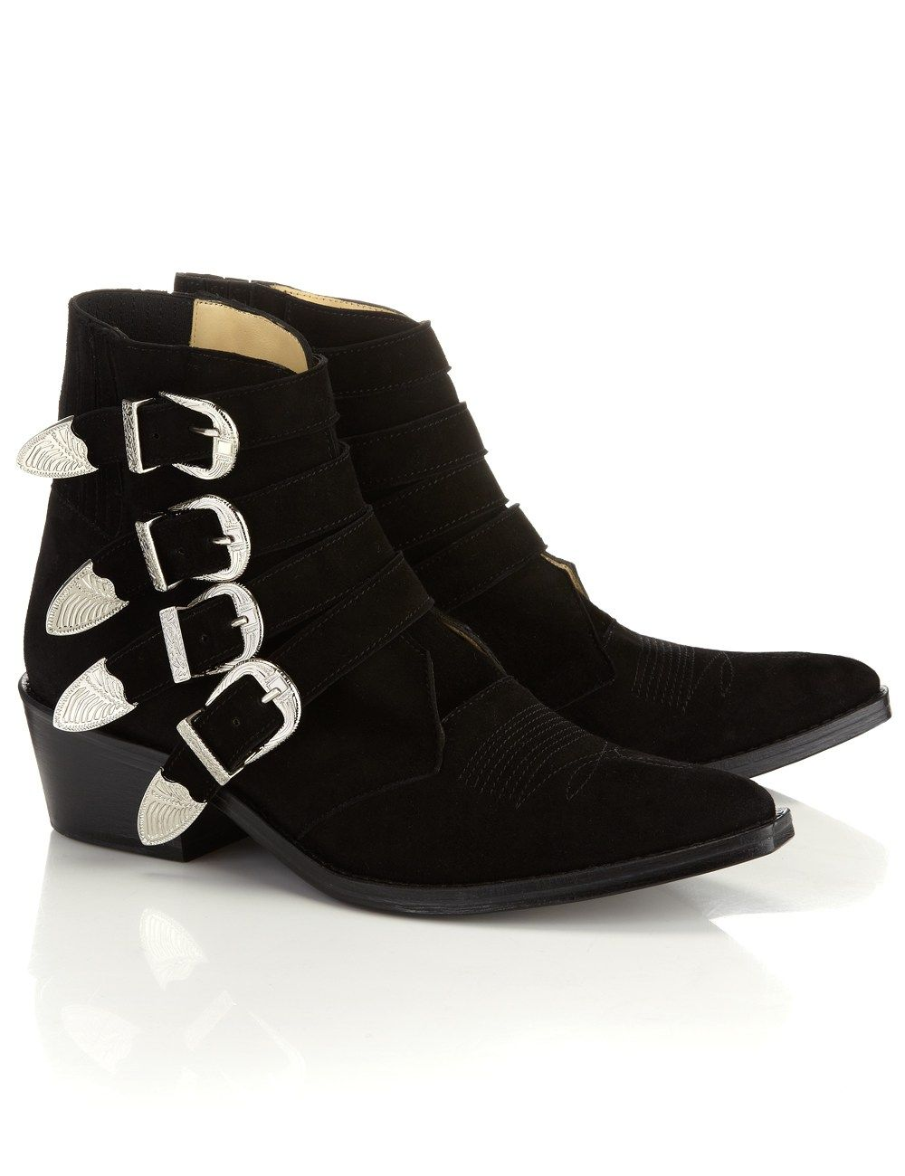 100% original cheap online Toga Pulla Suede Ankle Boots clearance get to buy pay with paypal XOfwkIE
