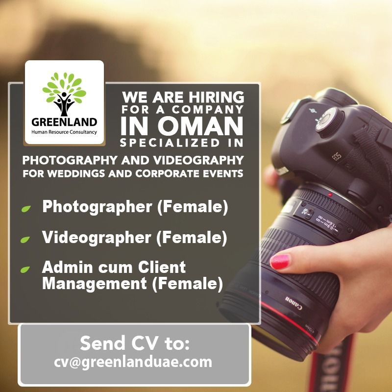 View Job Vacancy Videographer Images