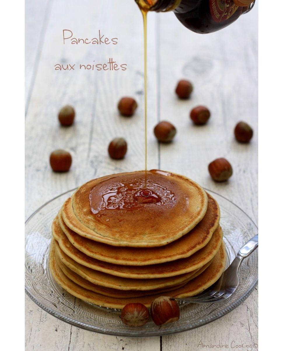 Pancakes aux noisettes (sans lactose) | Recettes de crêpes ...