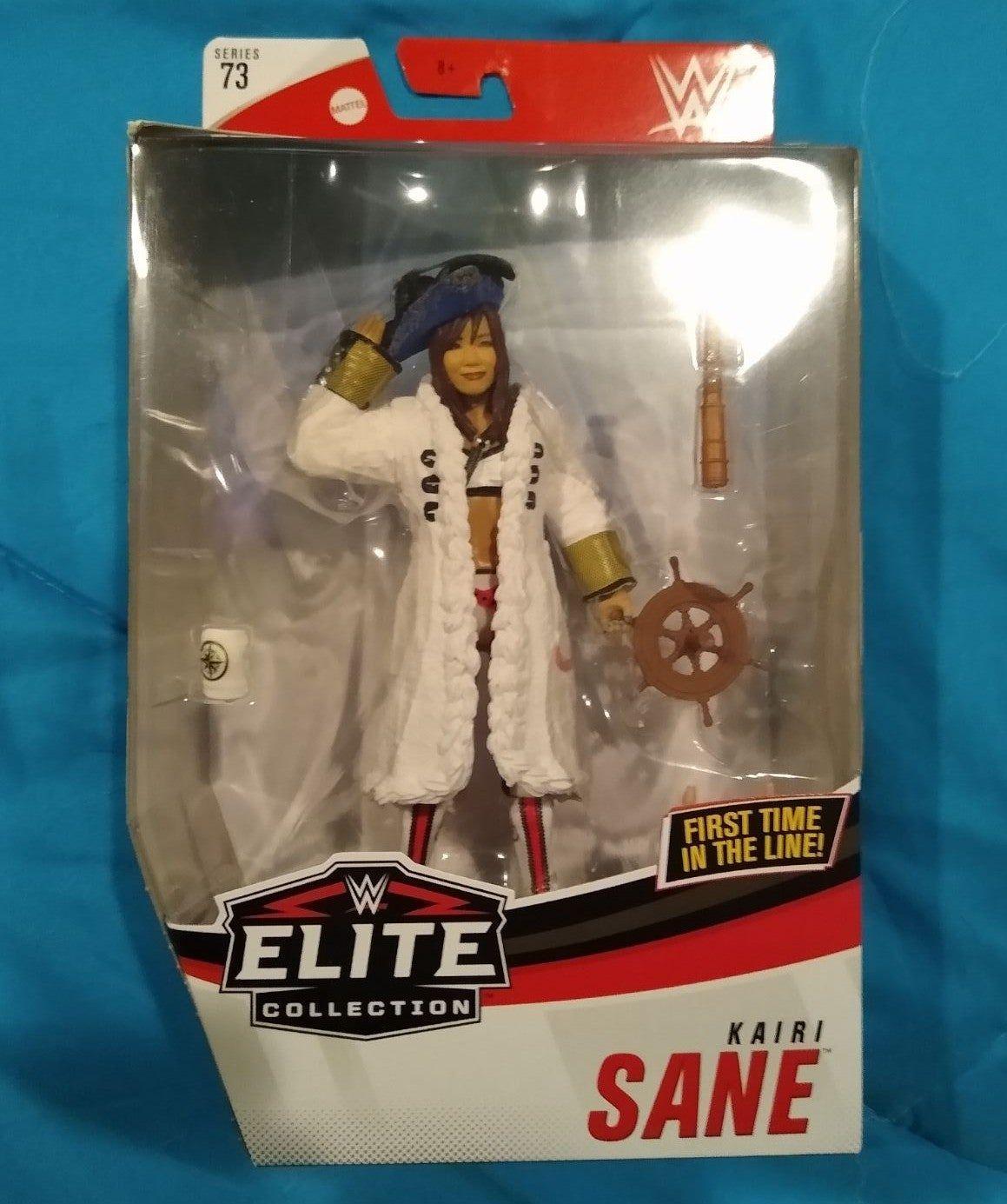 Brand new figure. Mint in box. Elite 73 Kairi Sane. Comes