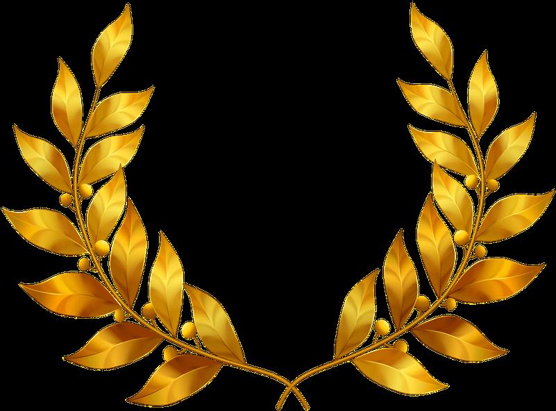 Leaf Crown Png Leaf Crown Png 63842 Vippng Coroa De Louros Bolo De Mesversario Simples Flores De Ouro