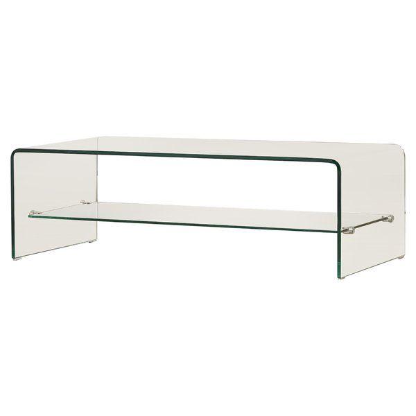 Artemon Trestle Coffee Table Coffee Table Coffee Table With Shelf Rectangular Coffee Table