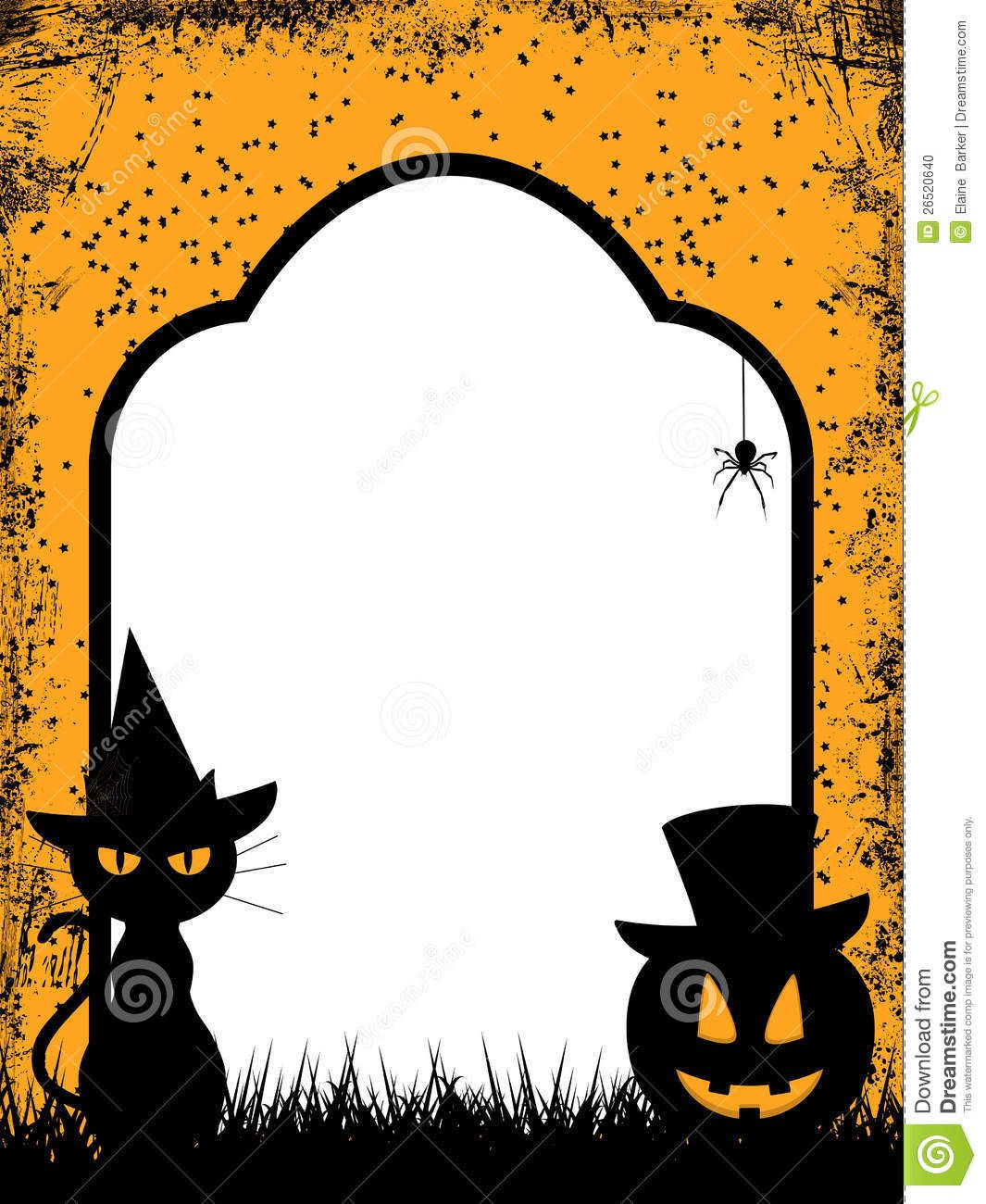 11++ Halloween party clipart black and white info