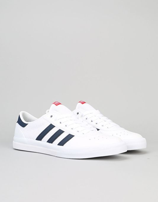 separation shoes c5951 d2bcc Adidas Lucas Premiere ADV Skate Shoes - WhiteCollegiate NavyScarlet