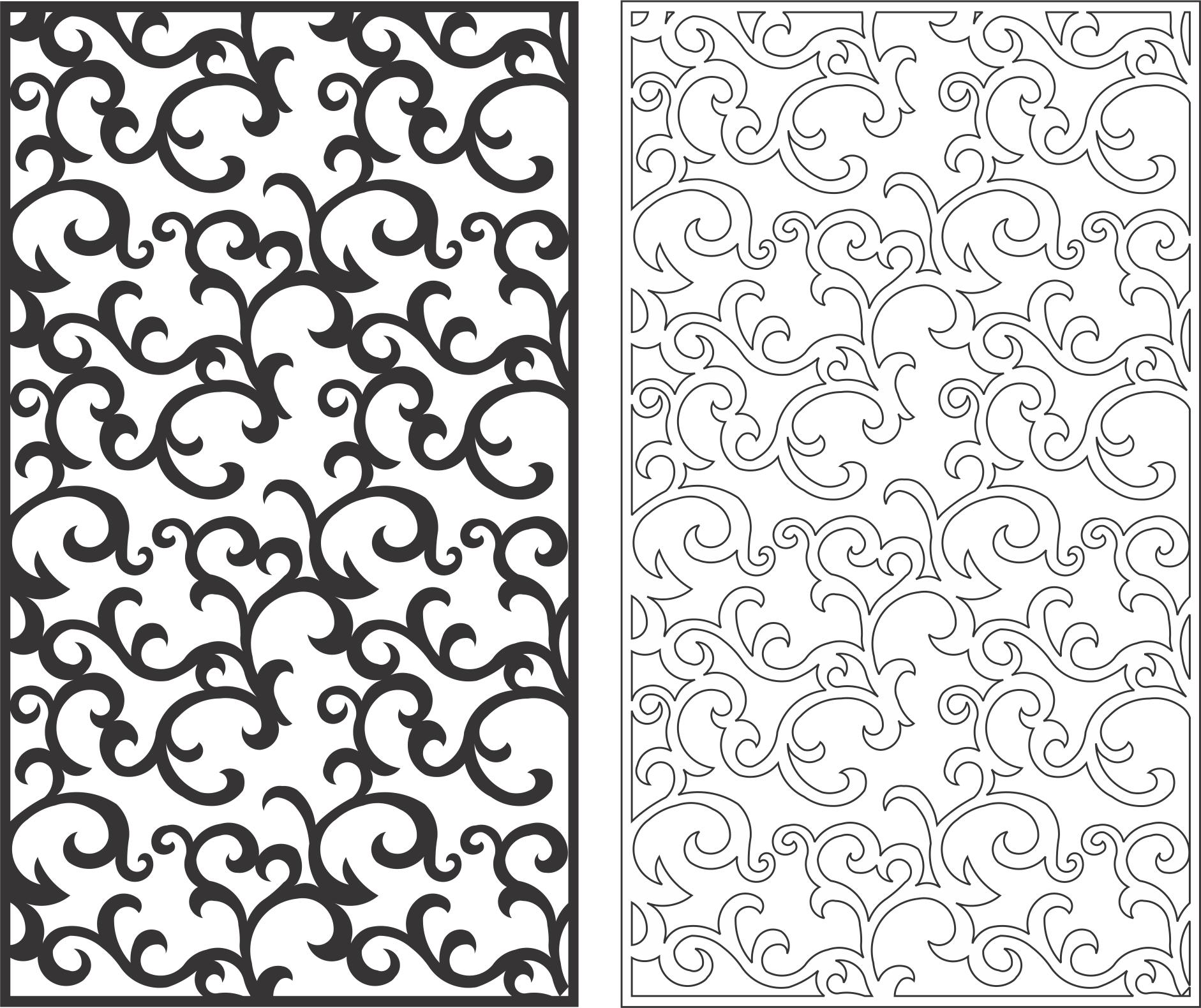 Seamless Screen Swirl Pattern Free Vector Cdr Download 3axis Co Swirl Pattern Vector Free Pattern Art