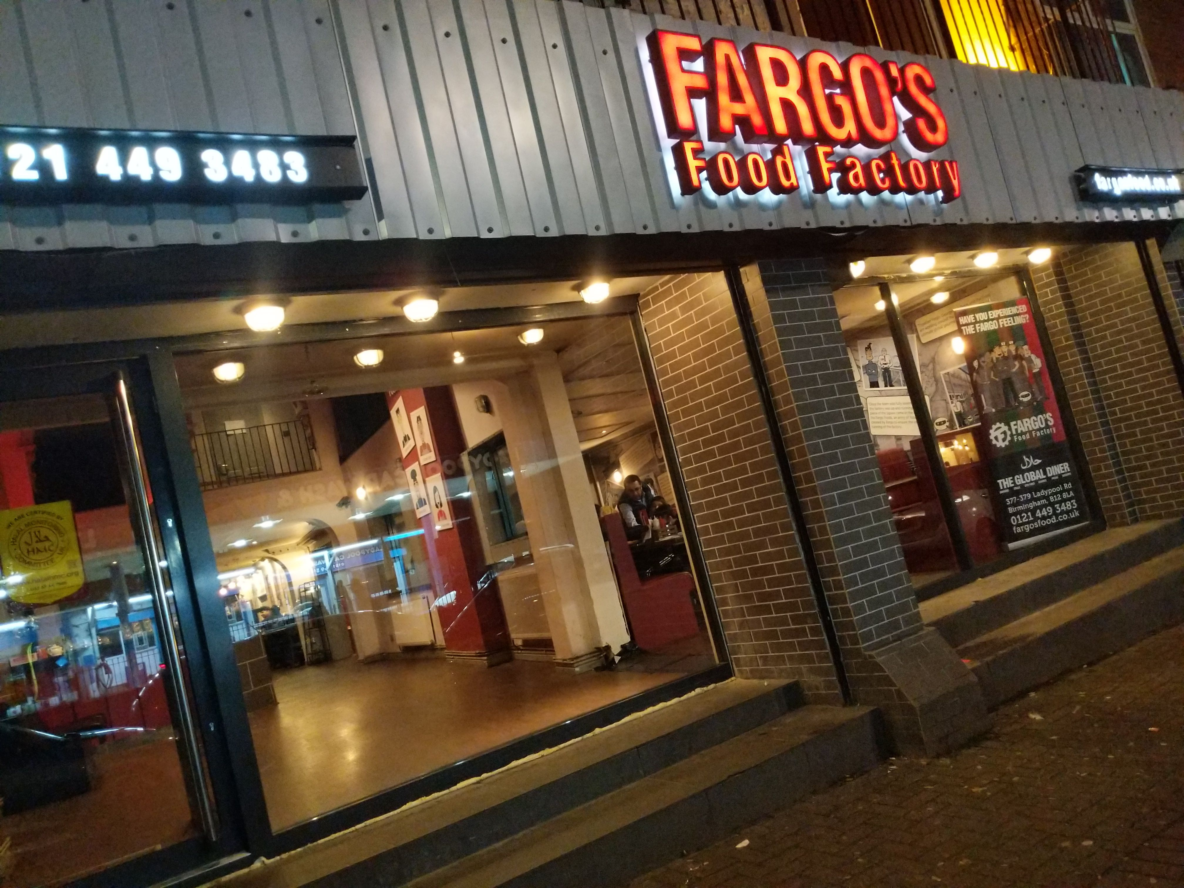 Fargo S Food Factory Birmingham Review Halal Tapas Menu With A Range Of Burgers Steaks Burritos Pizza More Tapas Menu Halal Recipes Pizza And More
