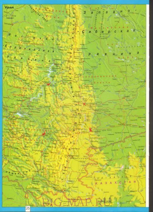 карта урала скачать - фото 5