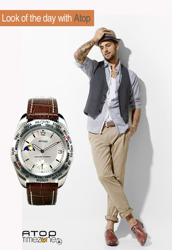 The popular ATOP WWS-2A compliments many styles... What's yours?  www.atoptimezone.co.uk