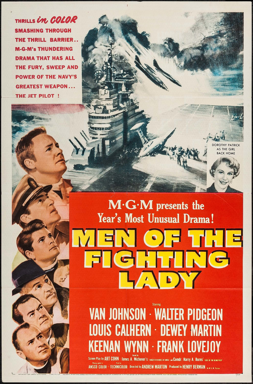Men Of The Fighting Lady 1954 Stars Van Johnson Walter Pidgeon