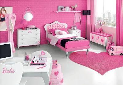 Diseño de Habitaciones de Barbie para Niñas   Habitaciones de mi ...